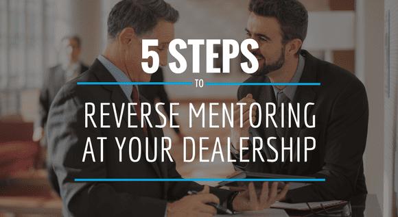 Reverse Mentoring In A Dealership