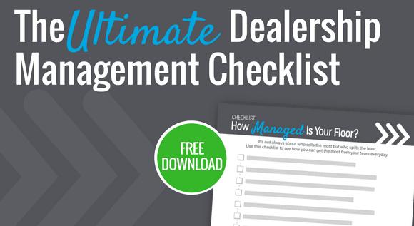 Dealership Management Checklist